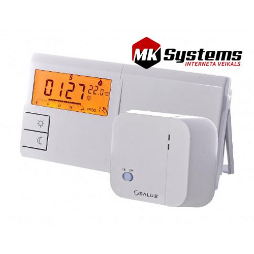 Bezvadu programmējami termostati SALUS 091FLRF Balts