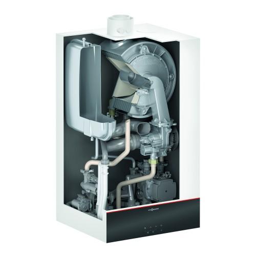 Gāzes kondensācijas apkures katls Viessmann Vitodens 100-W B1HF ar boilera pieslēgumu, 19kW