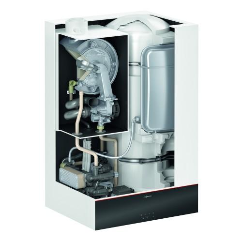 Gāzes kondensācijas apkures katls Viessmann Vitodens 111-W B1LF ar iebūvētu ūdens tvertni, 19kW