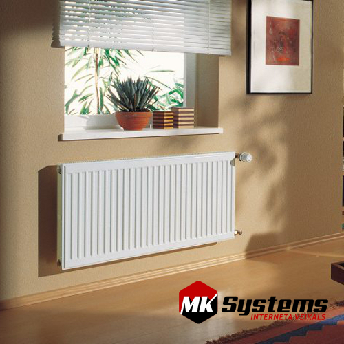 KERMI 11-400*1400 steel radiators with side connections