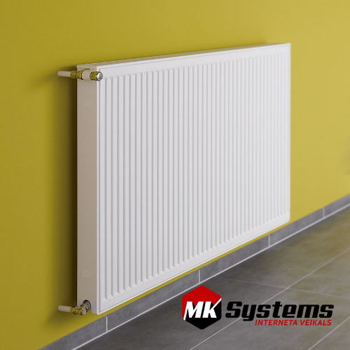 KERMI 12-500*2000 steel radiators with side connections