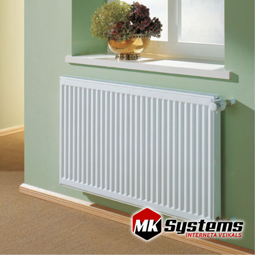 KERMI 10-400*1600 steel radiators with side connections